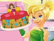 Tinkerbell Cooking Fairy Cake