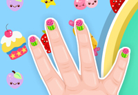 Baby Barbie Kawaii Nail…