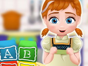 Baby Anna Cooking Block Cakes